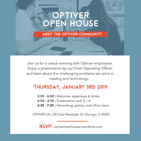 Optiver Open House 2019