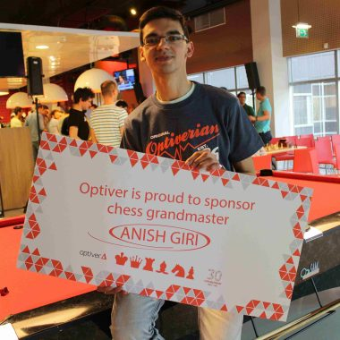 Proud to sponsor Anish Giri