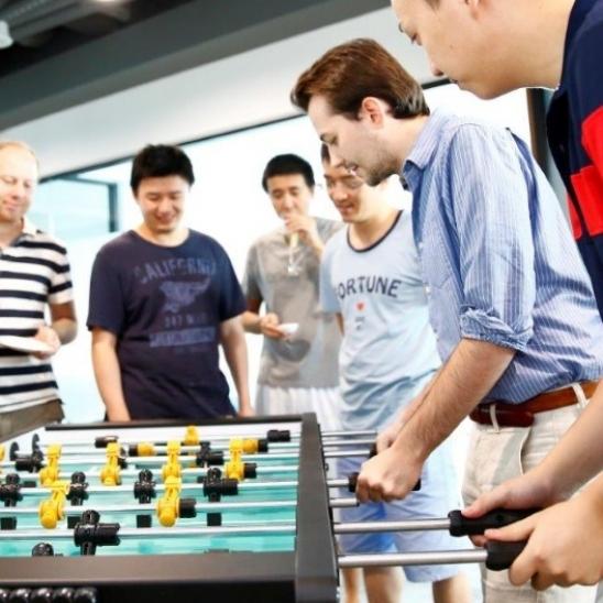 AP Image Foosball (Shanghai)