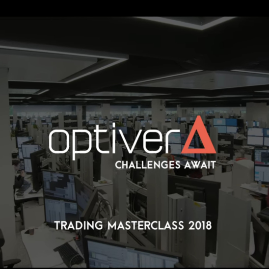 Optiver - Challenges Await | Trading Masterclass 2018